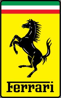 Logo marki Ferrari