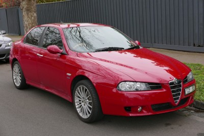 Alfa Romeo 156 932 Facelifting