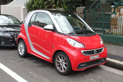Smart Fortwo II Facelifting
