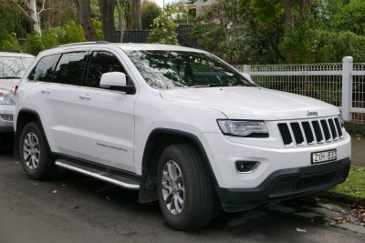 Jeep Grand Cherokee WK2 Facelifting