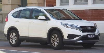 Honda CR-V IV Facelifting