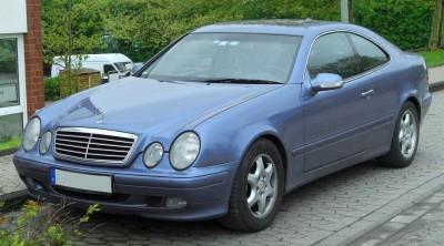 Mercedes-Benz CLK C208 Facelifting