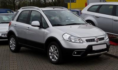 Fiat Sedici I Facelifting