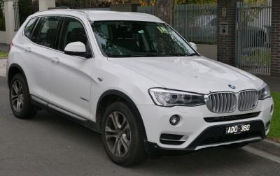 BMW X3 F25 Facelifting