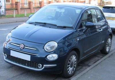 Fiat 500 II Facelifting